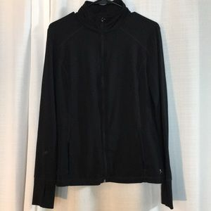 Black Zip Danskin Now Jacket